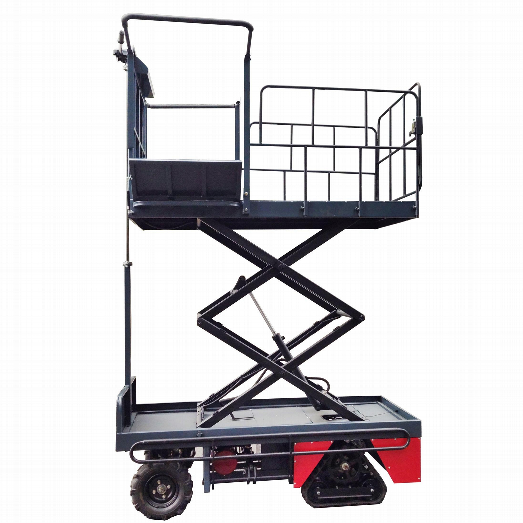 greenhouse harvest trolley with electric track 9