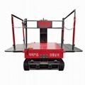 hydraulic elevating work platform for garden fruits picking
