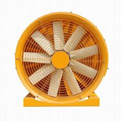 果园风送喷药机风机系统
