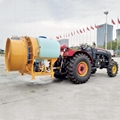 DISTRIBUTED AIR FOR ORCHARD SPRAYER