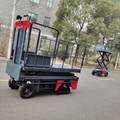 greenhouse harvest trolley with electric track 14