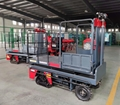 greenhouse harvest trolley with electric track