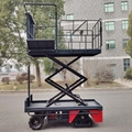 greenhouse harvest trolley with electric track 16