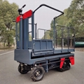 greenhouse harvest trolley with electric track 19
