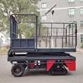 greenhouse harvest trolley with electric track 20
