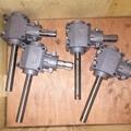 gearbox double disc fertilizer spreader