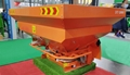 PTO driven double disc fertilizer spreader