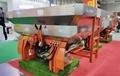 Tractor hitch type fertilizer spreader