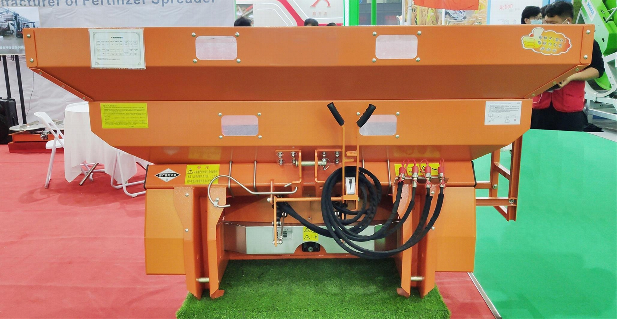 PTO Shaft Drive muck fertilizer spreader