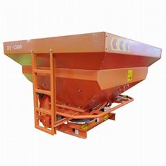 tractor PTO drive chemical granule fertilizer  spreader
