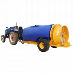 拖拉机牵引式果园风送打药机