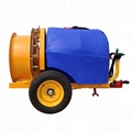 Trailer PTO drive orchard fruit trees sprayer 3WFQ-800