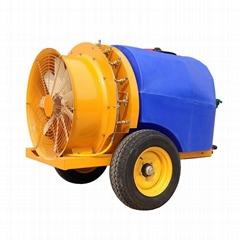 拖拉機牽引式果園風送噴霧機