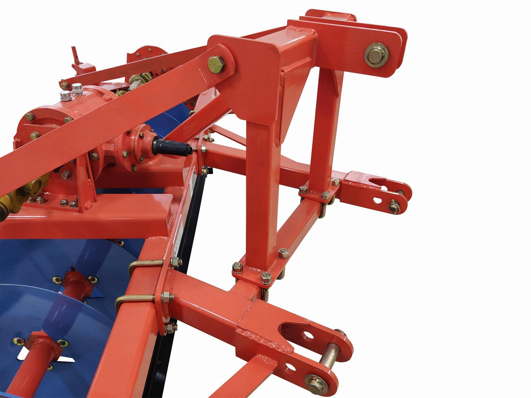Tractor 3 point suspension structure system