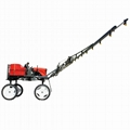 Corn agricultural boom sprayer