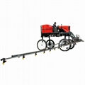 high clearance agricultural corn boom sprayer