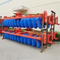 rice field gearbox drive disc plow
