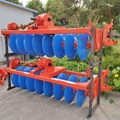 tractor paddy field 6 disc plough