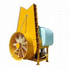 拖拉機果園懸挂式風塔風送彌霧打藥機