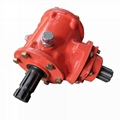 Right Angle Gearbox for ridge plastering