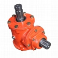 Right Angle Gearbox for Levee Plastering Machine