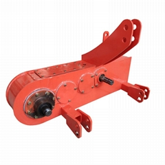 Main Gearbox assembly with ridge making machine