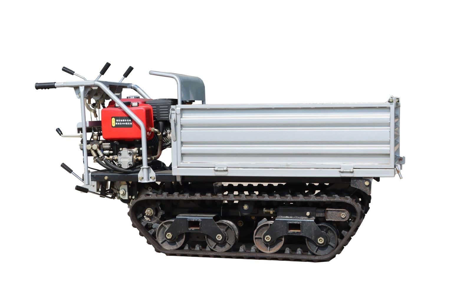Mini crawler remote control truck dumper  WL-350 2