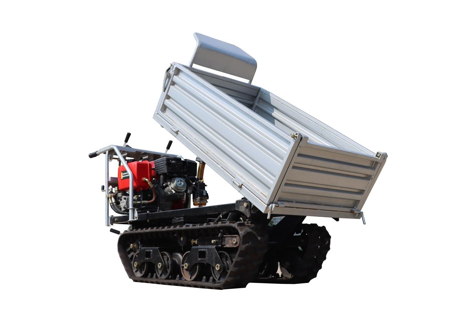 Mini crawler remote control truck dumper  WL-350 4