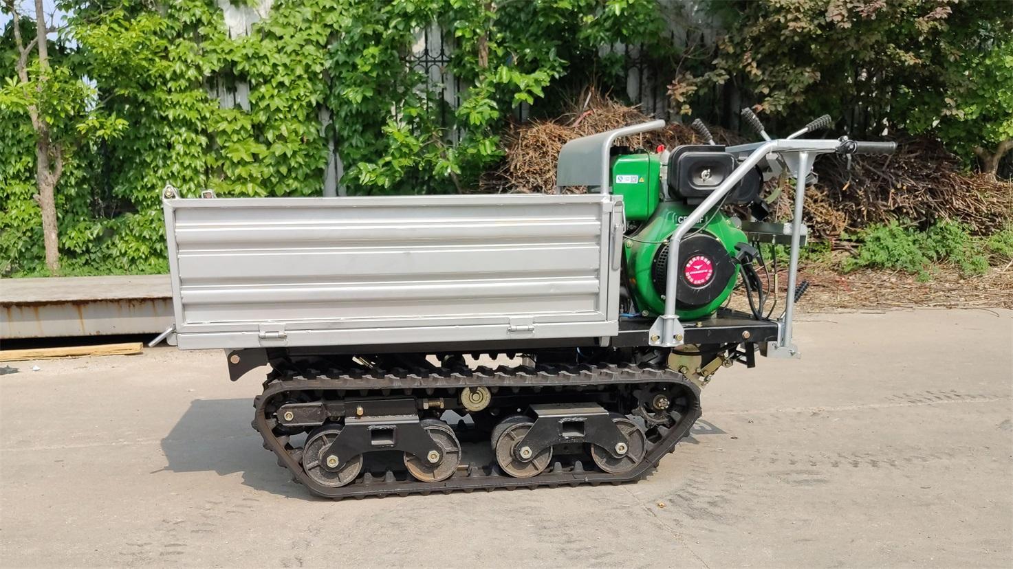Mini crawler remote control truck dumper  WL-350 7