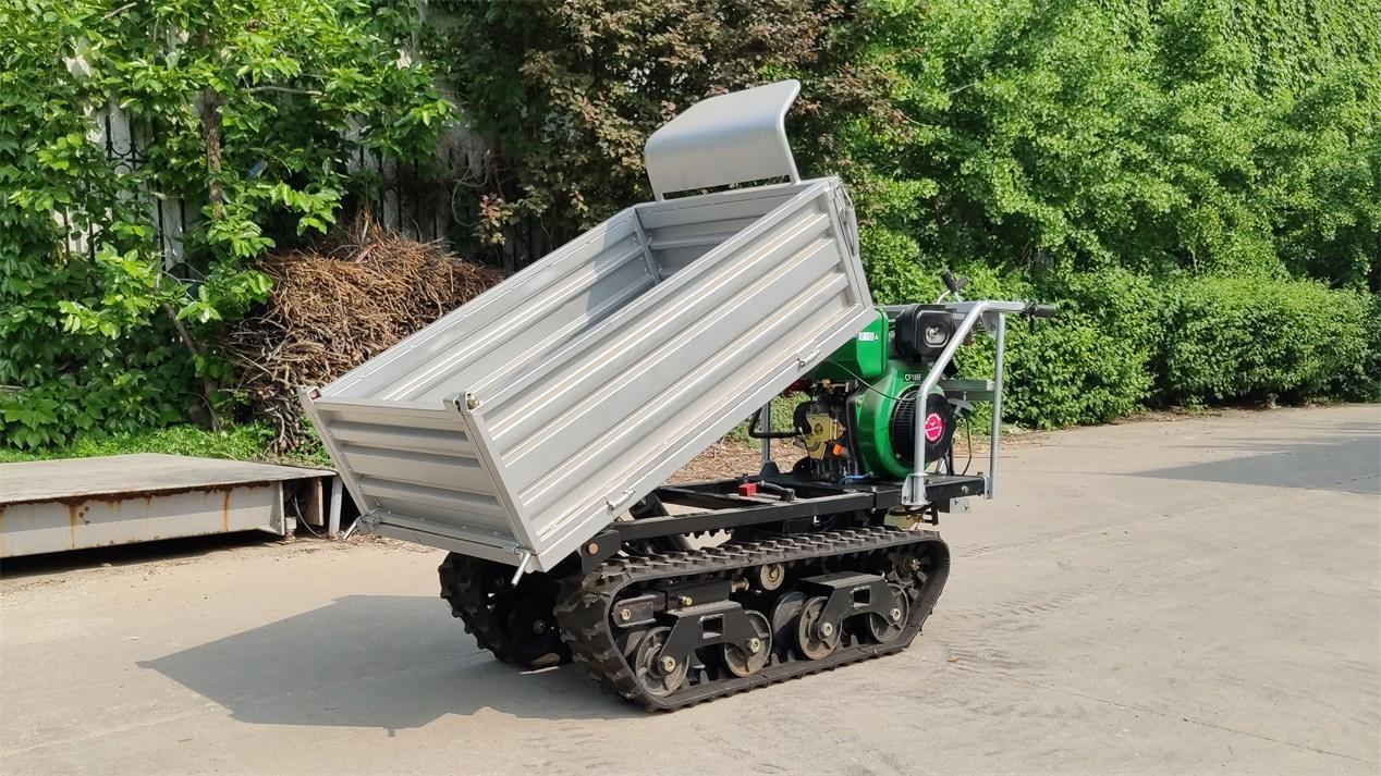 Mini crawler remote control truck dumper  WL-350 8