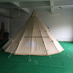 5m teepee tent
