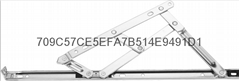 厂家直销不锈钢五连杆窗撑铰链