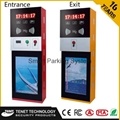 Extrance and Exit automatic ticket