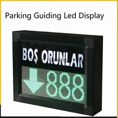 Available Lots Information Real-time Indoor Parking Guiding Led Display