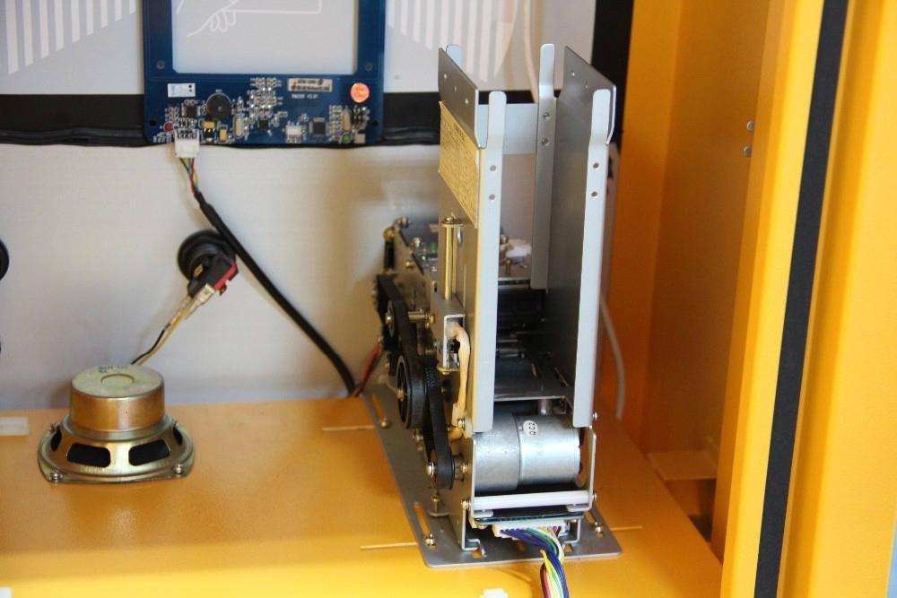 Automatic Ticket Dispenser ~ Hot tenet automatic ticket vending machine card dispenser