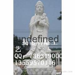 供應大型石雕觀音佛像