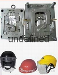 Plastic Injection Mould Motorcycle and Bicycle Safety Helmet Molding