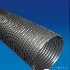 PVC interlock hose protect electrical wire change direction