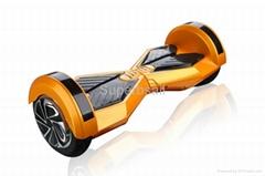 电动扭扭车智能漂移车带蓝牙音响 LEd跑马灯遥控器8寸双轮平衡车