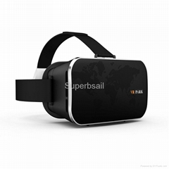 VR Park Headset Plastic VR box Virtual Reality 3D Glasses with bluetooth gamepad