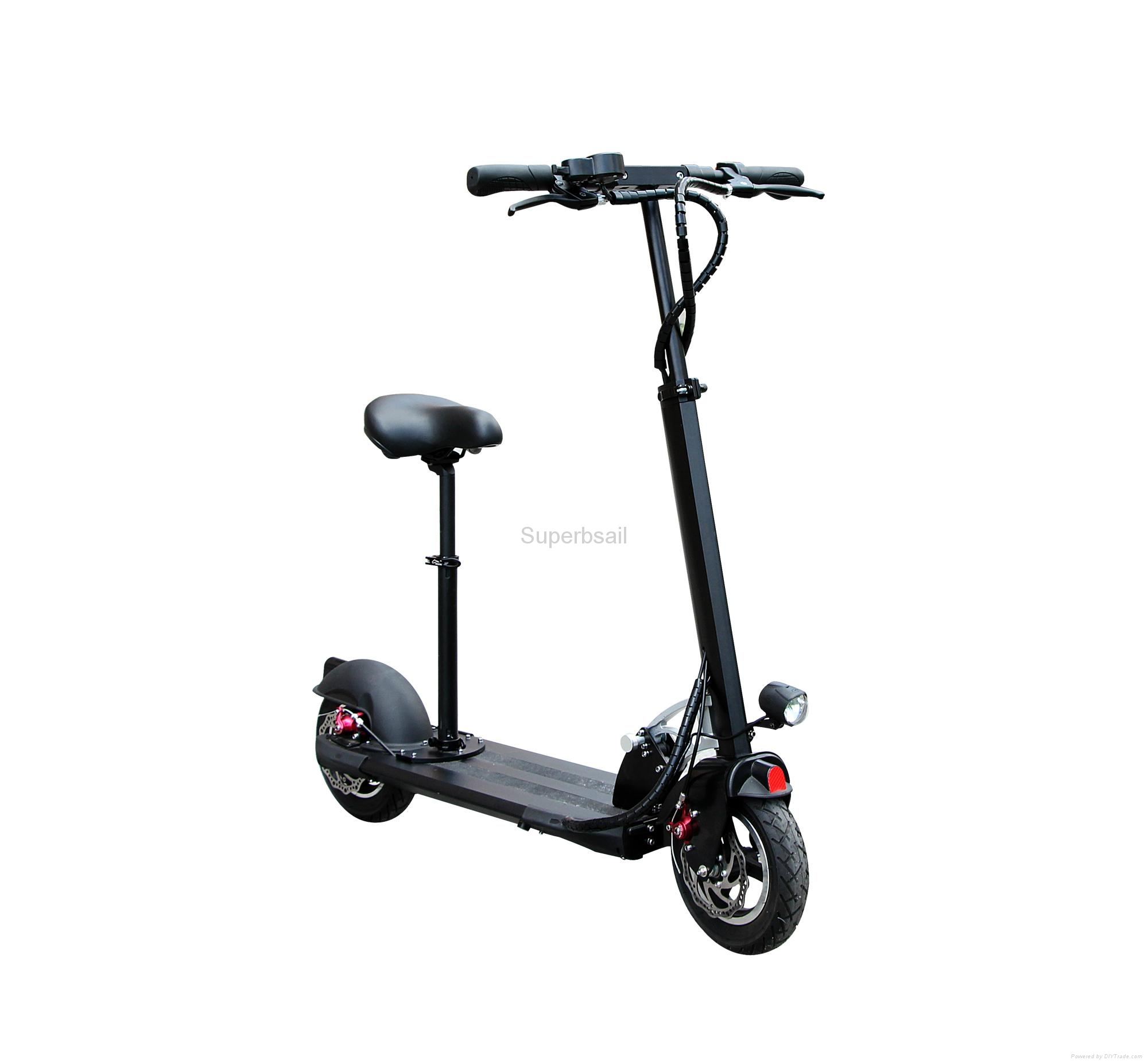 10.4Ah Li-ion Battery Folding Electric Scooter and Adult ...