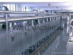 DW Hot Air Belt Dryer