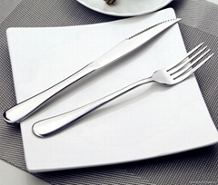 厂家直销中高档不锈钢餐具
