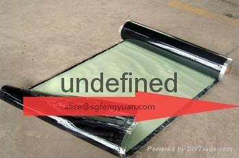 BAC self -adhesive bitumen waterproof membrane 1