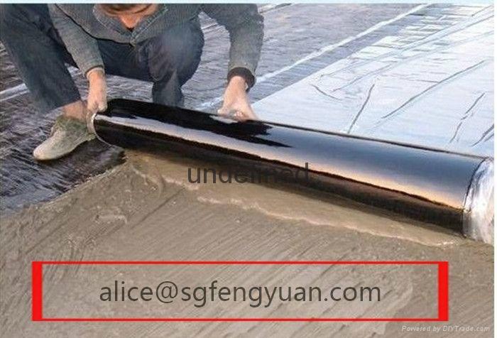 BAC self -adhesive bitumen waterproof membrane 4