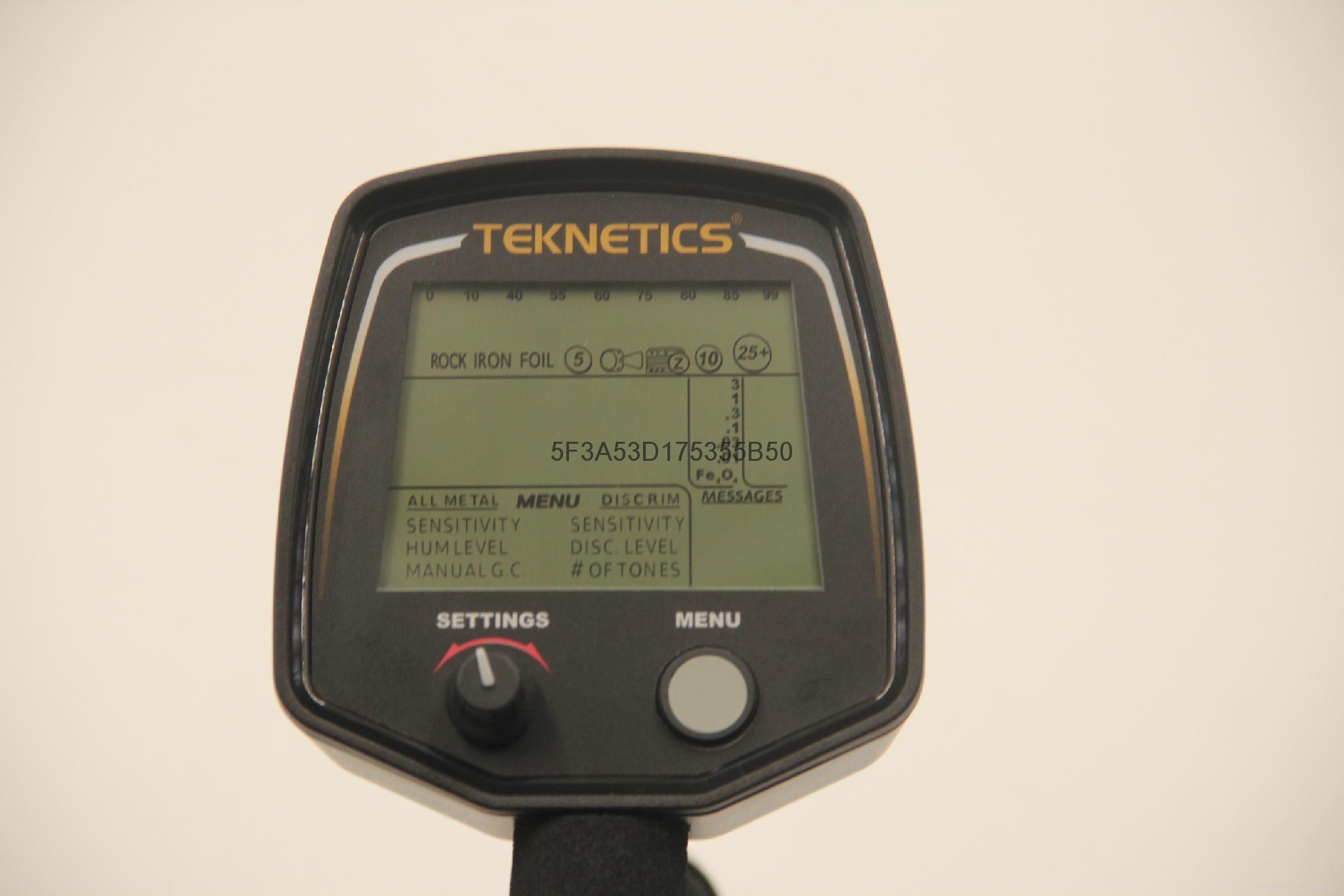 新款手持式美国进口地下金银探测器T2数字显 3