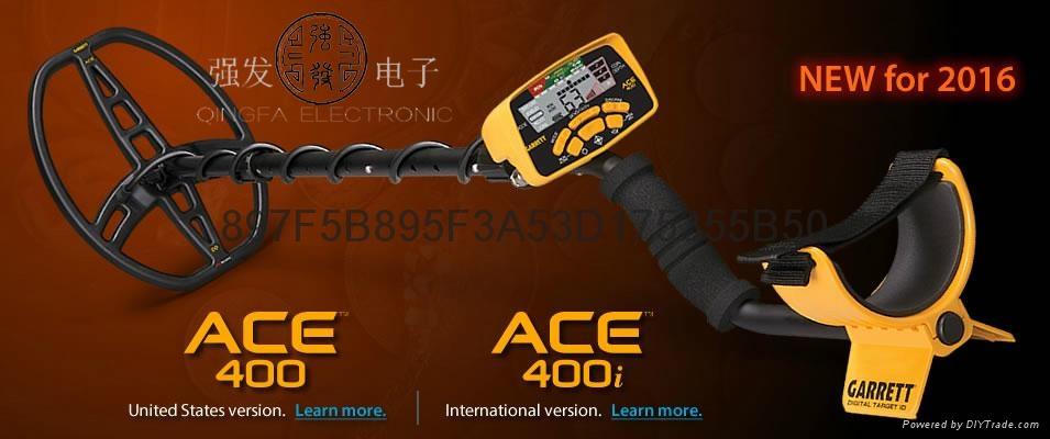 进口地下寻宝金属探测仪ACE400 1