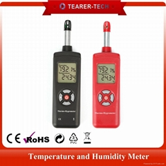 portable humidity temperature industrial meter digital Thermo-Hygrometer probe
