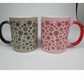Promotional Creative Color-Changing Ceramics Mug with Custom Logo and Design 2