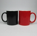 Promotional Creative Color-Changing Ceramics Mug with Custom Logo and Design 4